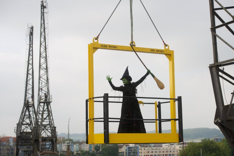 Wicked 's Ephelba recently made an appearance in Bristol to promote the launch of the UK tour