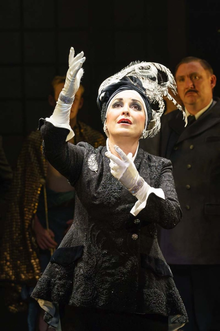 Ria Jones stars as Norma in Sunset Boulevard when it comes to Wales Millennium Centre