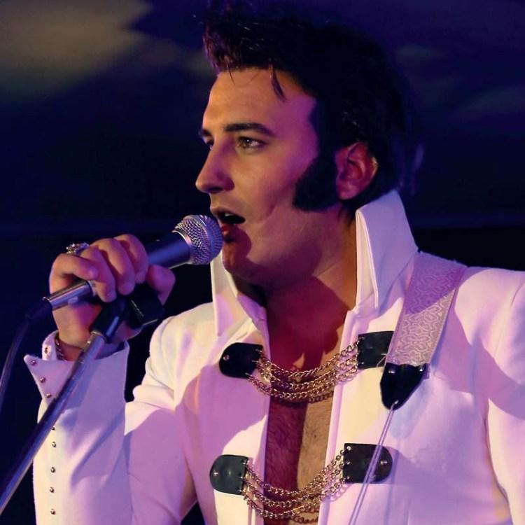 Elvis tribute act, Gordon Davis will perform at Classic Elvis in Cardiff's St David's Hall