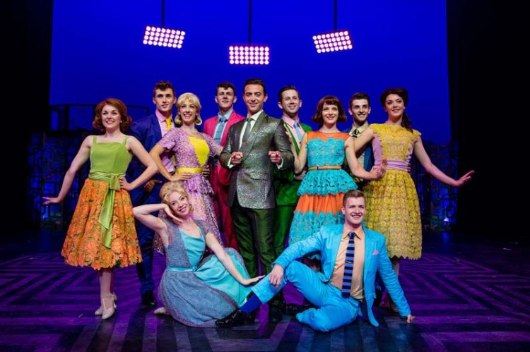 A scene from the stage musical, Hairspray.