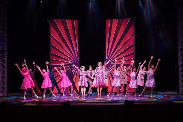 A dance scene from the musical, Hairspray, coming to Bristol Hippodrome