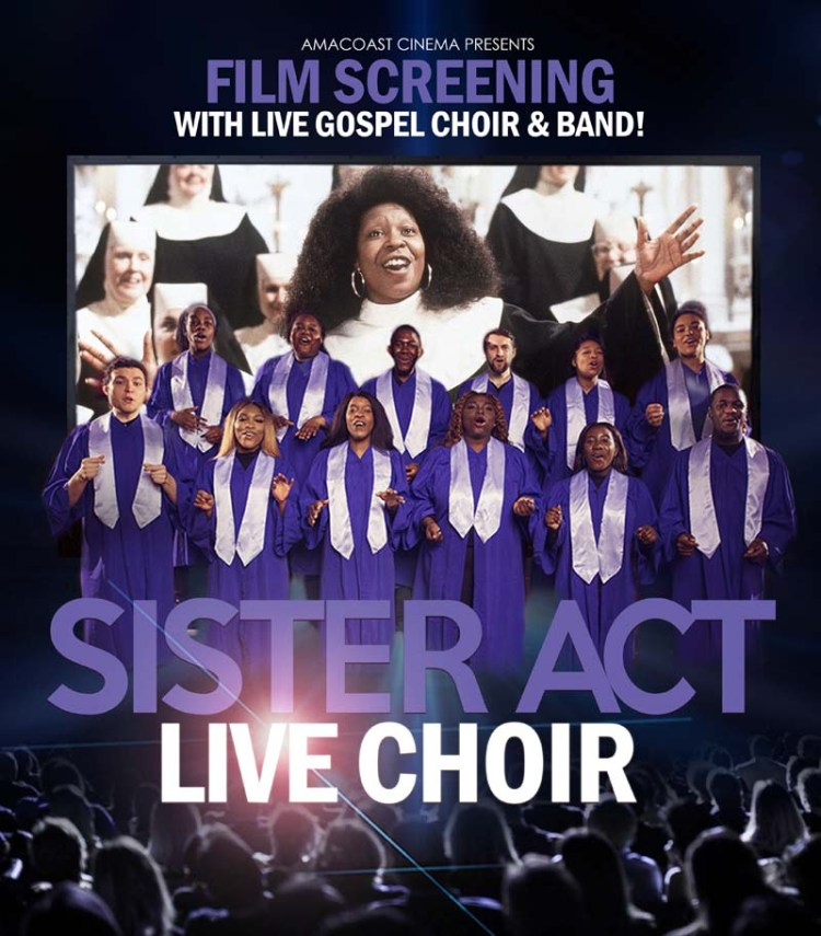 The Sister Act Live Tour will come to Cardiff's St Havid's Hall