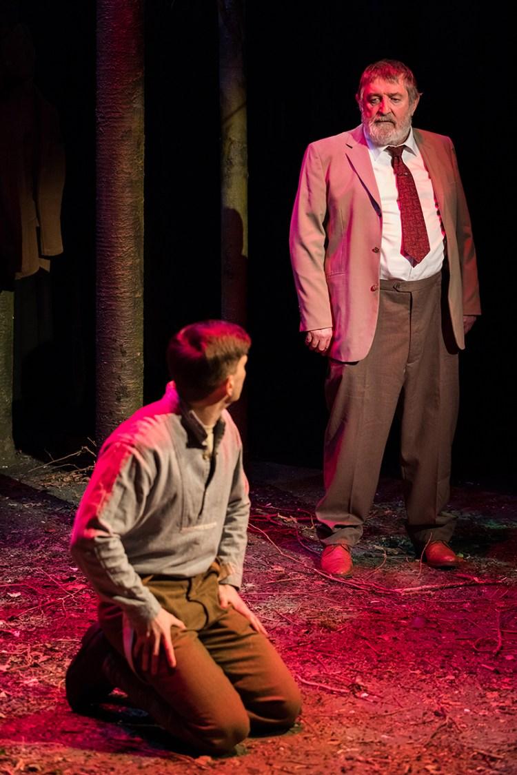 Ifan Huw Dafydd and Gwydion Rhys star in The Wood
