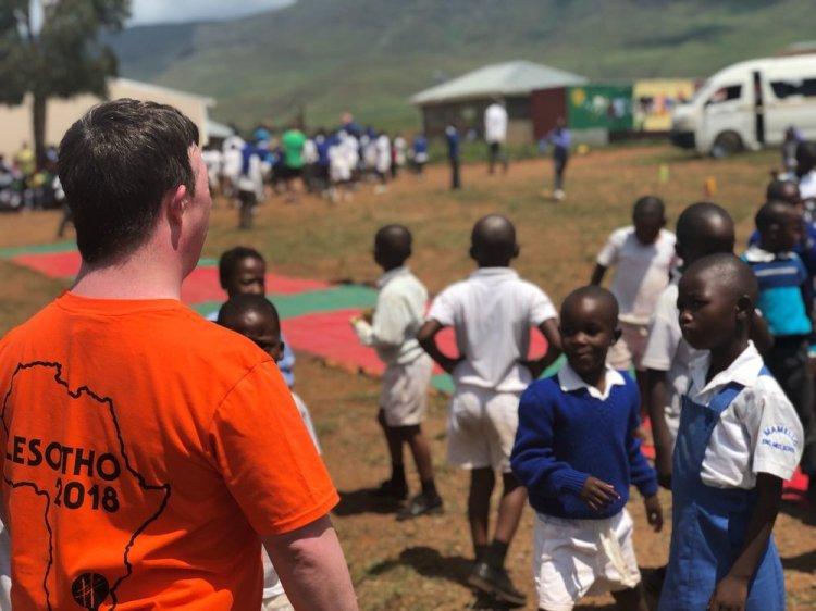 Hijinx actors visited Lesotho