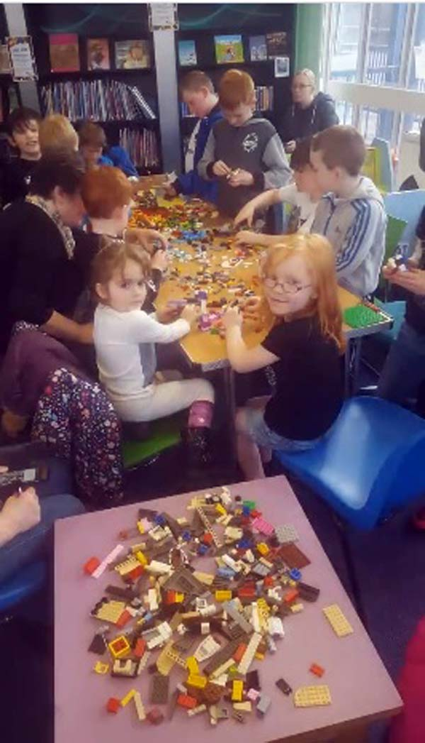 Abertillery Library will also be hosting a free Lego Club on Wednesday 4th April from 2.30pm – 3.30pm