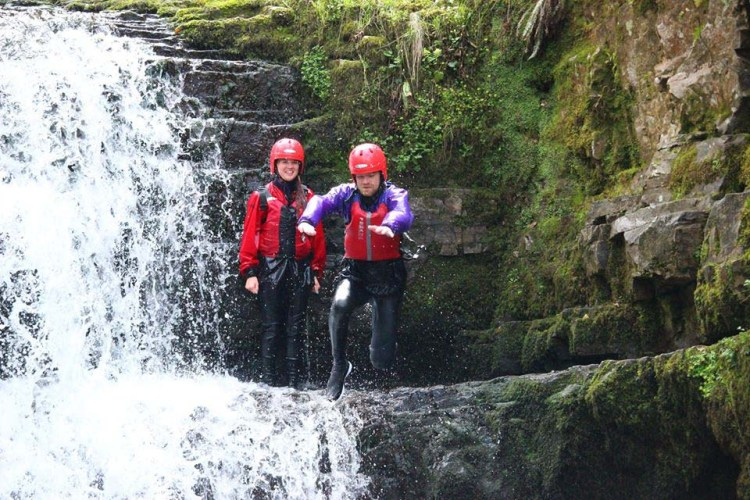 There ls an opportunity to join the experienced PBB Adventure Team for a day of thrilling Gorge Walking.