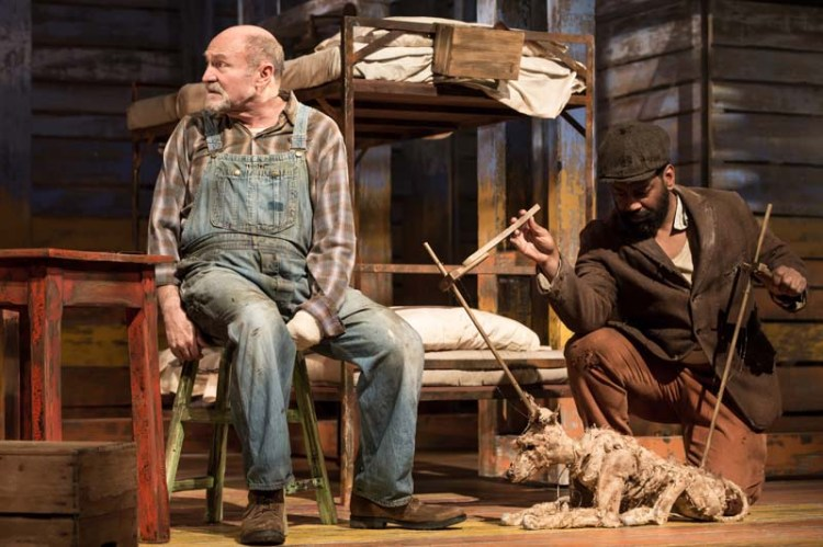 Of Mice And Men,  directed by Guy Unsworth will play Swansea Grand Theatre from April 16 - 21, 2018. Photos : © Scott Rylander 2018
