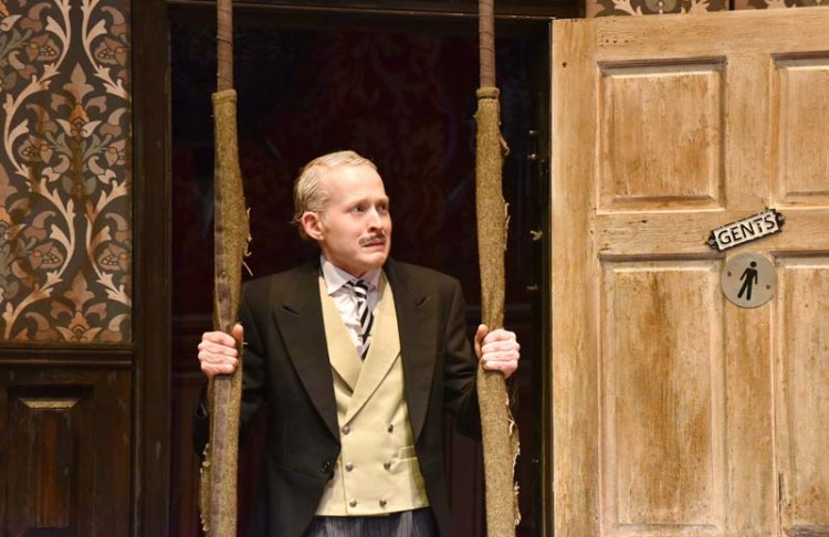 Madcap fun in  The Play That Goes Wrong  at Cardiff's New Theatre from April 30 to May 5