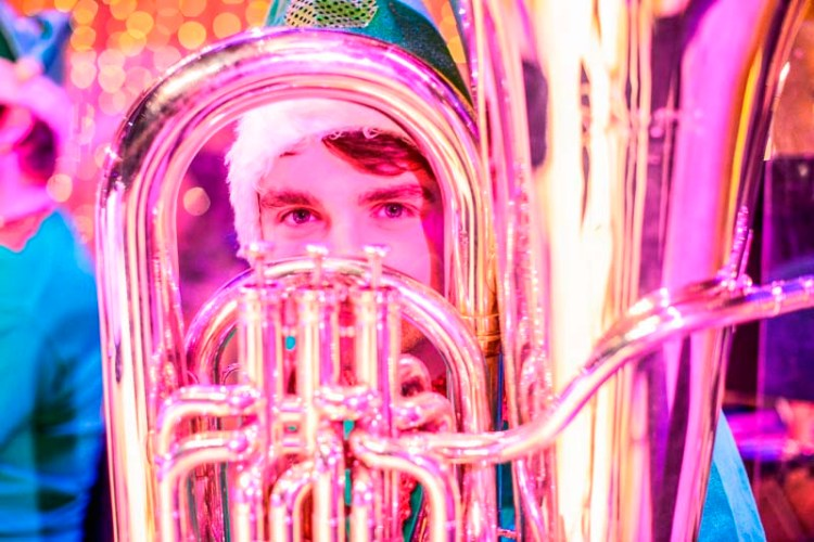 The Royal Welsh College Brass Band Will Play A Christmas Themed Lunchtime Concert at St David's Hall, Cardiff