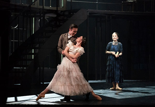 A scene from the Northern Ballet's production of Victoria which plays New Theatre, Cardiff from 21 – 25 May 2019