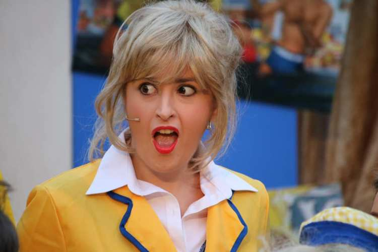 Elin Edwards features in Everyman Theatre's presentation of  Hi-De-Hi!  which opens the Cardiff Open Air Theatre Festival summer season at Sophia Gardens from June 27 to July 6, 2019.f
