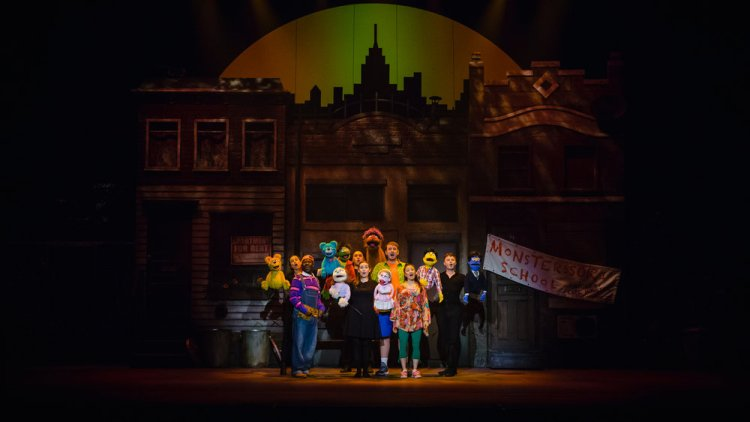 Avenue Q runs at Cardiff's New Theatre from June 17-22, 2019