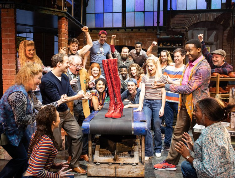 Kinky Boots starring Kayi Ushe, Joel Harper-Jackson and Paula Lane at Cardiff's Wales Millennium Centre until August 3, 2019.
