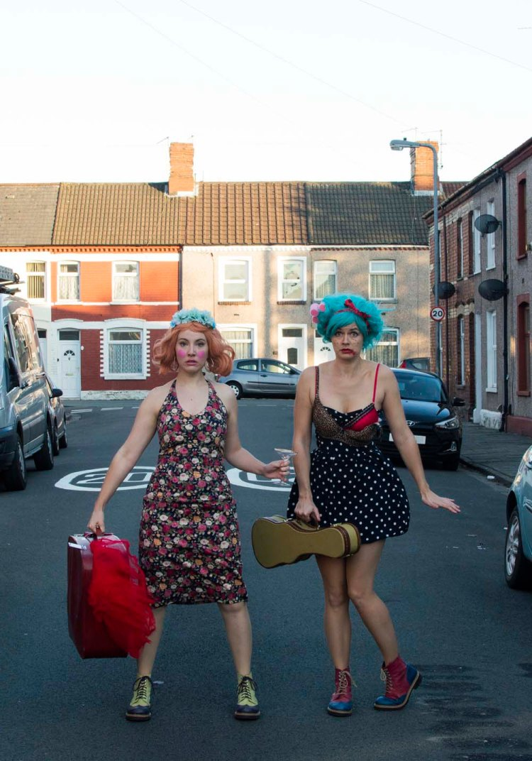 Flossy & Boo: Girl on Girl at Newport Riverfront on Thursday 25 July, 7.45pm
