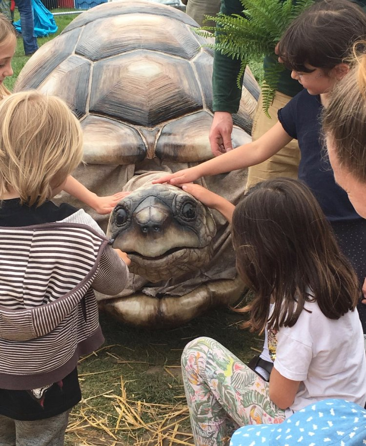 What the Tortoise Taught Us by the Flying Buttresses will be performed at Newport's Big Splash at 1.30pm and 4.45pm on Saturday July 20.