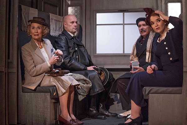 A scene from The Lady Vanishes which plays Cardiff's New Theatre from July 16-20.