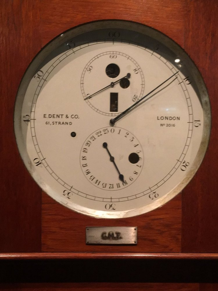 GMT at The Royal Observatory, Greenwich. Photo: Andy Howells