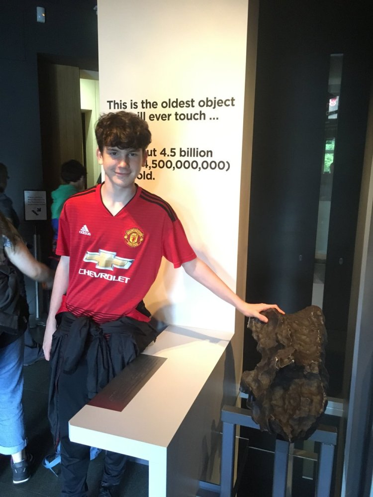 Jonathan finds an artefact older than his father at the Peter Harrison Planetarium in Greenwich.