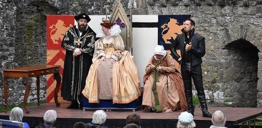 Blackadder II  continues at the Dolman Theatre, Newport until October 19.
