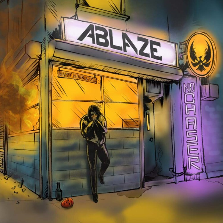 No Chaser is the debut album from Ablaze who play Swansea in November 2019.