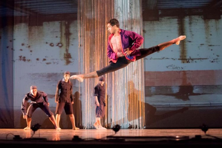 Ballet Cymru presented Romeo a Juliet at The Riverfront in June 2019