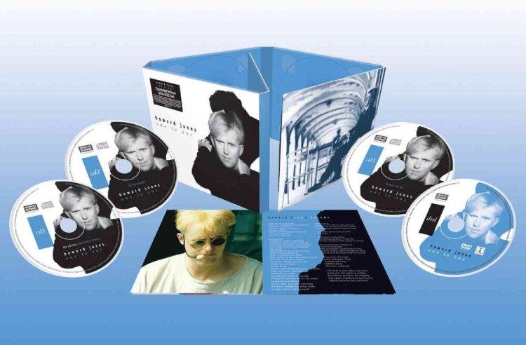 Howard Jones: One To One, Expanded Deluxe 3CD & DVD Set available from Cherry Red Records