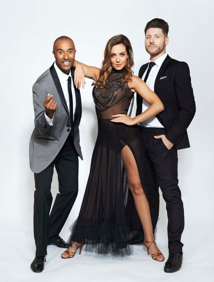 Colin Jackson, Amy Dowden and Ben Jones will star in Lost In The Rhythm at Swansea's Brangwyn Hall on April 3.