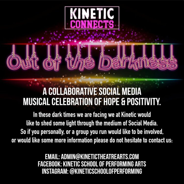 Kinetic Connects aims to bring people together via social media during the Coronavirus pandemic.