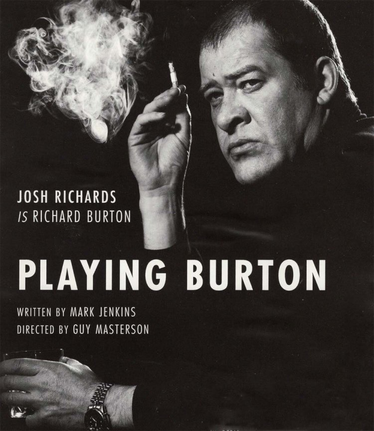 Josh Richards played Richard Burton in Playing Burton.