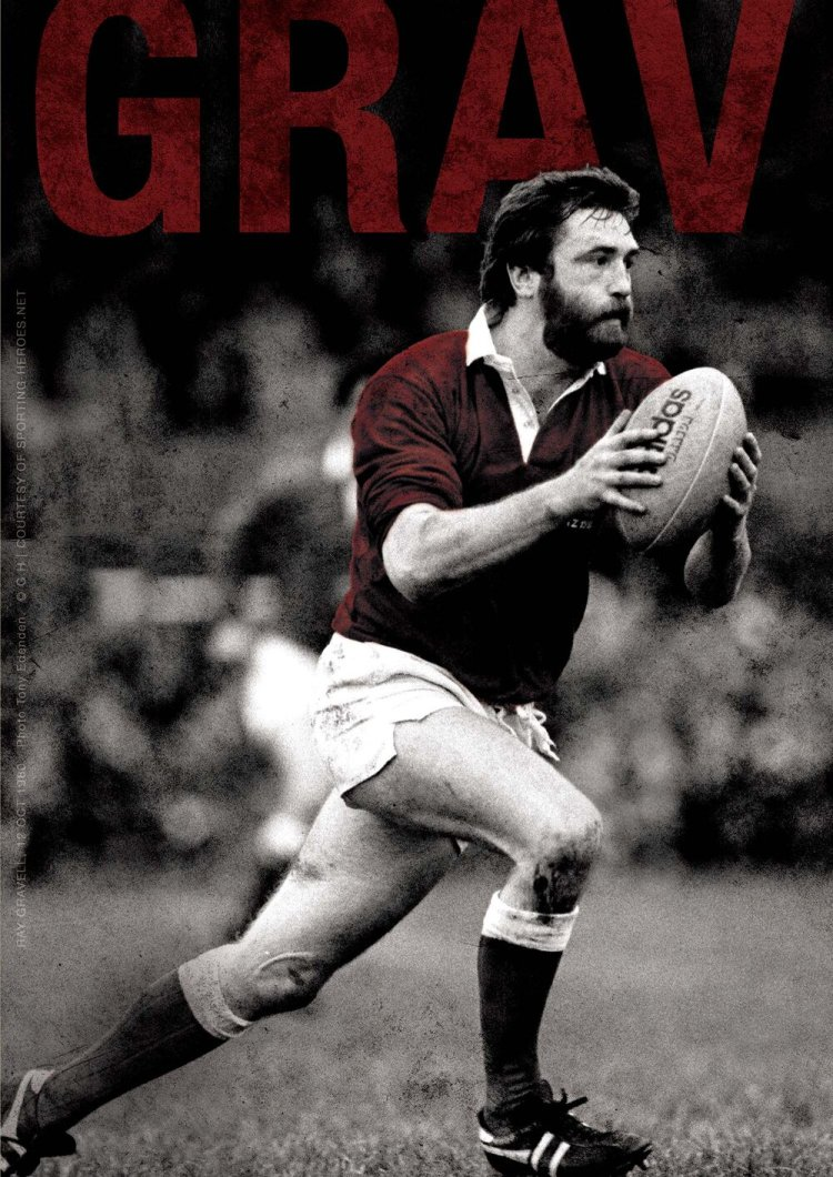 Ray Gravell was captured in a one-man performance by Gareth J Bale in Grav