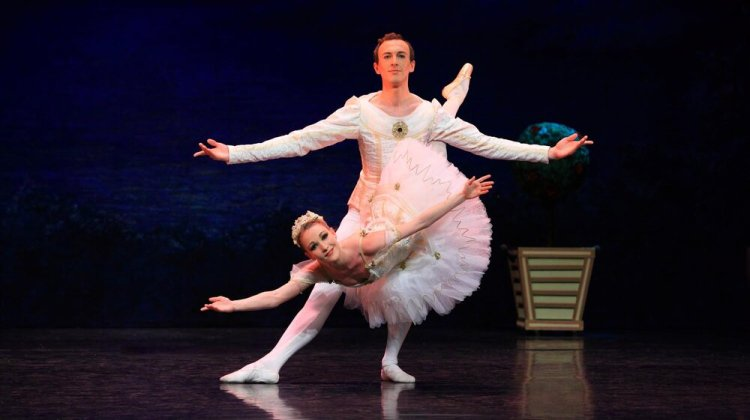 English Youth Ballet partnered with local youngsters to present Sleeping Beauty at Cardiff's New Theatre in 2016.
