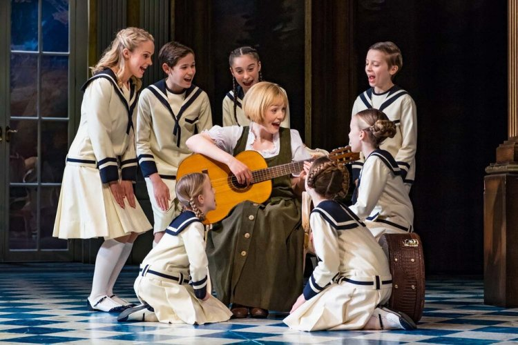 The brave story of the Von Trapp family singers was recalled in The Sound of Music.