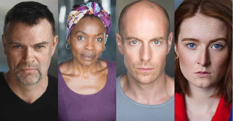 Actors Julian Lewis Jones, Rakie Ayola, Matthew Gravelle and Rebecca Hayes will all take part in the live streaming play presentation of Constellation Street