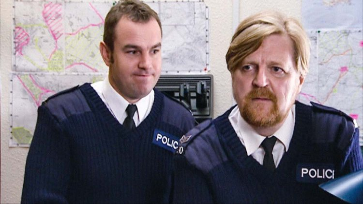 Keiron Self anand Boyd Clack are on the case in High Hopes: Close Encounters of The Third Kind Photo: BBC IPlayer