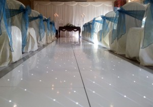 Starlite Wedding Aisle