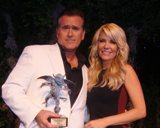 Bruce Campbell & McKenzie Westmore,  photo by MargieBarron