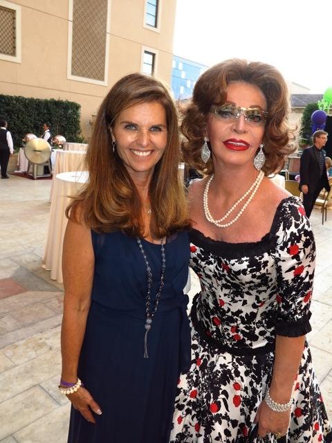 Maria Shriver & Liz Loren