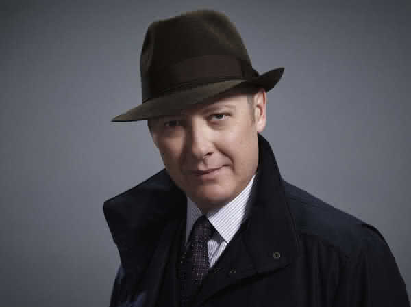 James Spader (photo by Patrick Ecclesine/NBC)