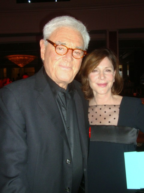Richard Donner & Lauren Shuler Donner (photo by Margie Barron)