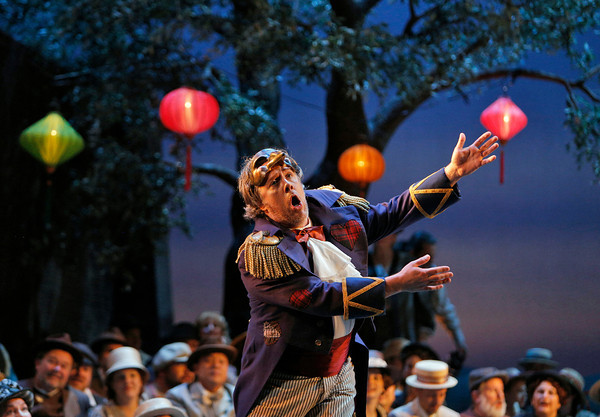Baritone Stephen Powell is Tonio in San Diego Opera's PAGLIACCI. Photo by Cory Weaver, copyright 2014.