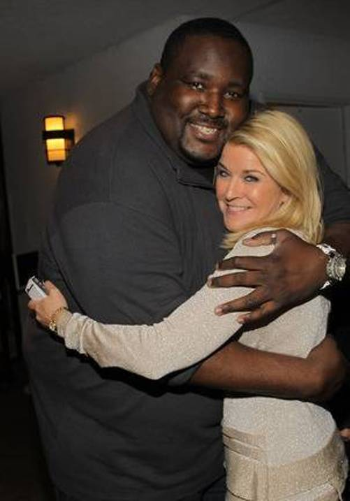 Quinton Aaron  & Tonya York Dees at Derby Prelude Party