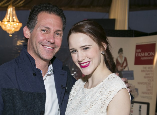 GBK's Gavin Keilly and House of Cards' Rachel Brosnahan