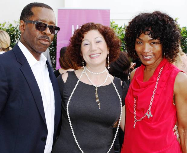 Angela Bassett & Husband, Courtney B. Vance with Silvana K. Designs