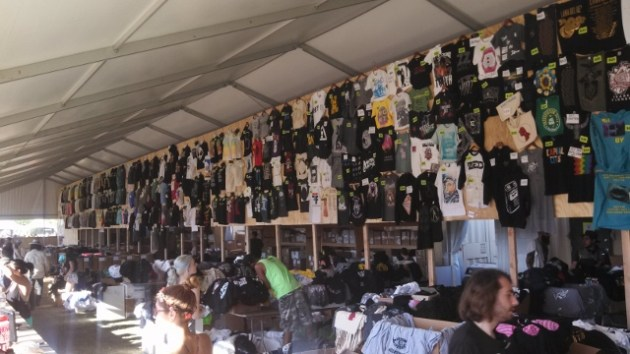 Merch galore