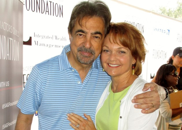 Joe Montegna and Pamela Reed  (photo by Margie Barron)