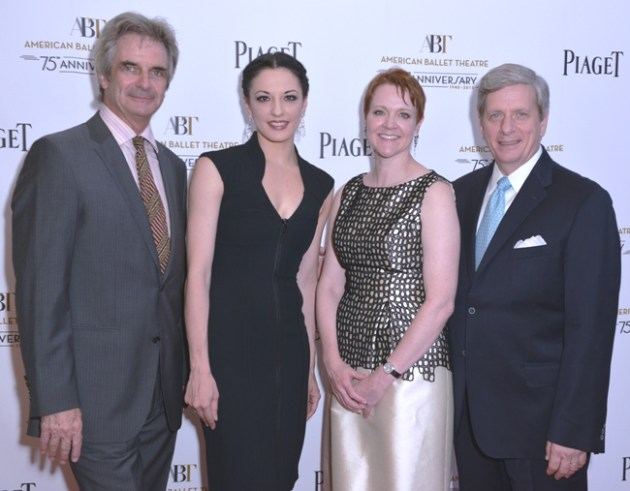 ABT Artistic Director Kevin McKenzie, Principal Dancer Veronika, Part ABT CEO Rachel Moore and President of Piaget N America Larry Bola