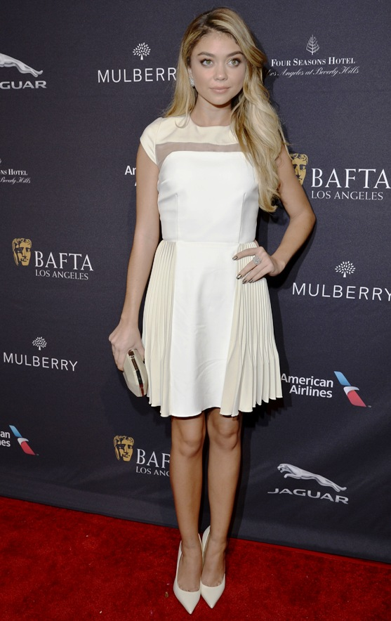 Sarah Hyland (Modern Family) at BAFTA Luncheon