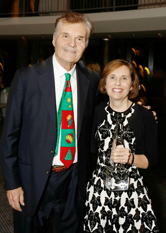 Actor Fred Willard & Producer, Michelle King at Caucus Awards