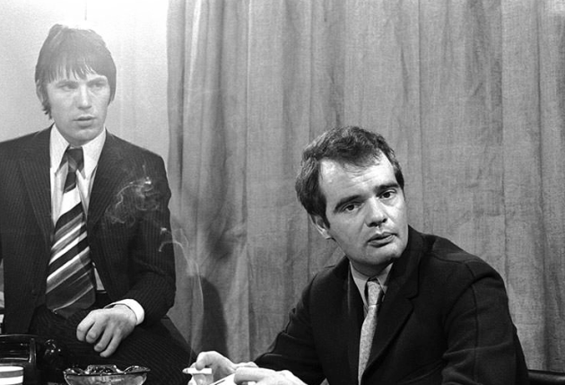 Chris Stamp, Kit Lambert. It was said that Lambert only used one match in his life, to light his first of endless cigarettes.