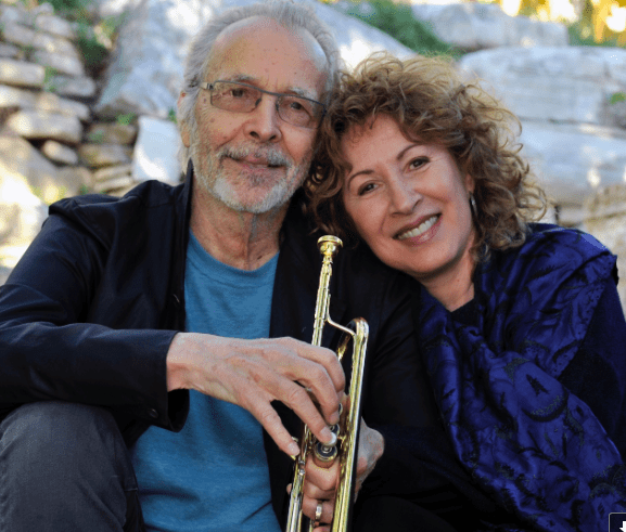 Herb Alpert and Lani Hall (photo by Gerry Wersh)